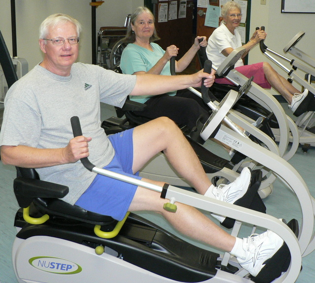 GRANT FOR NU STEP EXERCISE EQUIPMENT