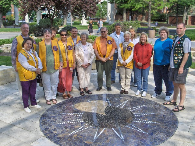 Iowa Lions Eye Bank & Healing Garden Tour