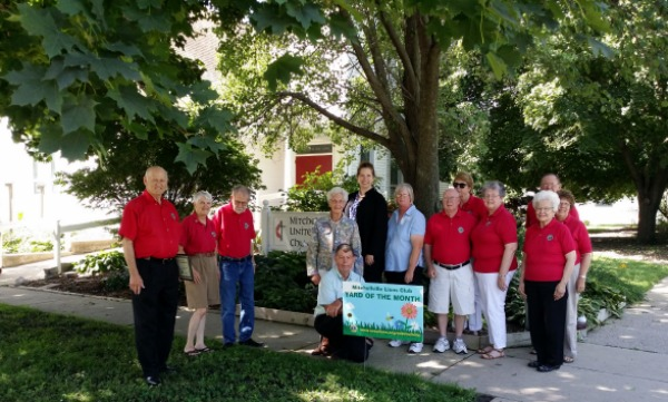 August Yard of the Month - Mitchellville Methodist Church