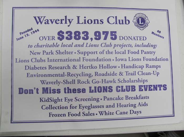 Waverly Lions Club - Official Web Site